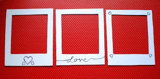 diy magnetic polaroid photo frames chambray u0026 curls