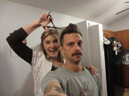 wife gives husband a haircut 1 22 13 youtube