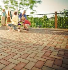 Paving Stone Designs For Patios by Flooring Mocca And Indianred Azek Pavers Matched With Black