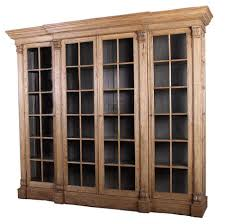 Glass Bookcases With Doors by Glass Front Bookcase For Sale At 1stdibs