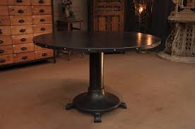 French Industrial Desk Industrial French Vintage Steel Dining Table With Rivets Sold