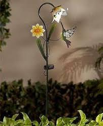 Hummingbird Garden Decor Hummingbird Garden Wind Spinner Stake Over 5 U0027 Tall Garden Decor