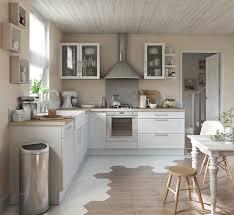 cuisine moderne blanc alliance parfaite du blanc et du bois pour une cuisine moderne