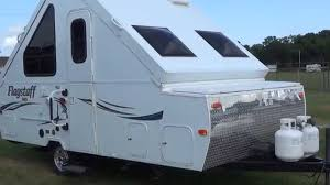 Forest River Travel Trailers Floor Plans Pre Owned 2014 Forest River T19schw Hard Side A Frame Pop Up