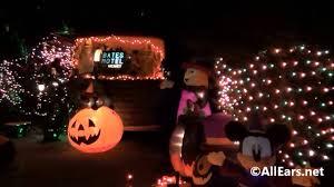 halloween decorations at fort wilderness in walt disney world