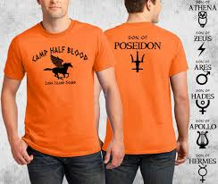 camp half blood t shirt percy jackson halloween costume 2