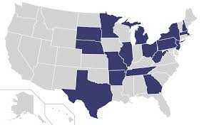 Map United State Of America by File Home States Of Democratic Party Presidential Nominees Locator