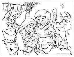 elegant nativity scene coloring pages 35 download