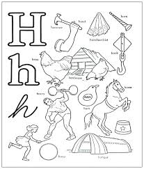 coloring pages with letter h h coloring pages letter h coloring pages 4 c for preschoolers
