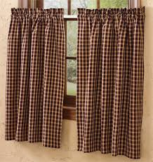 Park Designs Curtains Hickory Curtain Tier Pair Multi Park Designs View All