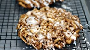 diy cinnamon roll funnel cake super super easy youtube