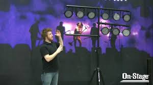 stage lighting tripod stands ls7720qik lighting stand lsa7700p accessory arms youtube