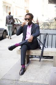 men u0027s navy vertical striped blazer light violet dress shirt navy