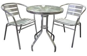 Attractive Aluminum Outdoor Chairs Furniture Bs New Silver - Outdoor aluminum furniture