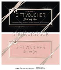 salon gift card gift premium certificate gift card gift stock vector 565018714