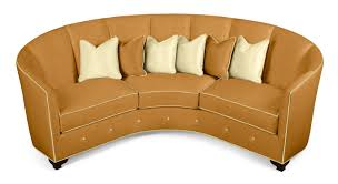 round sofa round sofa traditional leather 3 seater 60 0331