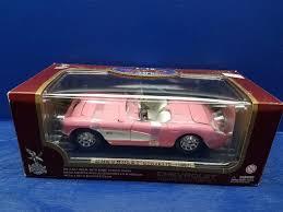 1957 corvette gasser road legends 1957 chevrolet corvette gasser pink 1 18th scale ebay
