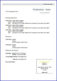 formal resume template cv templates design 4 resume templates