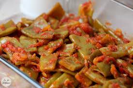 cuisiner des haricots plats haricots plats à la tomate la fée stéphanie