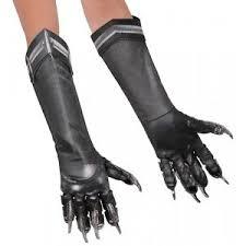 Kids Superhero Halloween Costumes Black Panther Gloves Kids Superhero Halloween Costume Fancy Dress