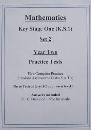 ks1 maths practice sats papers set 2 pre 2014 format pdf