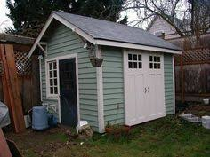 paint colour for shed birdhouses on the shed too great idea