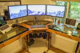 Standing Desk Diy by Diy Motorized Standing Desk Pretty Awesome For A Corner Desk