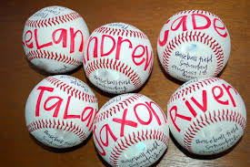 baseball birthday party icandy handmade