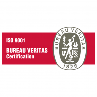 iso 9001 bureau veritas brands of the vector