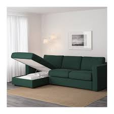 Ikea Modern Sofa Vimle Sofa With Chaise Gunnared Green Ikea Intended For