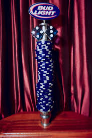 bud light beer tap handle amazing tap handles tap handle 497 bud light poker chips and dice