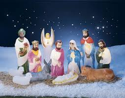 Outdoor Lit Nativity Scene by Nativity Outdoor Christmas Light Displays You U0027ll Love Wayfair