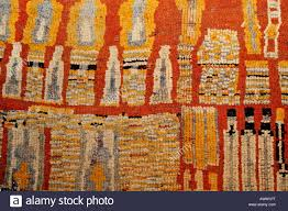 traditional berber rug pattern medina marrakesh morocco africa