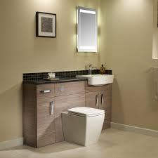 Oak Bathroom Vanity Units Tavistock Courier Havana Oak Vanity Unit 600mm