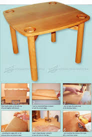 Plans For A Small End Table by Oak Coffee Table Plans U2022 Woodarchivist