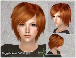 hair color to download for sims 3 mod the sims coolsims male hair 27 peggy free hair 090601 newsea