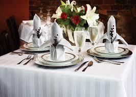 table linen white plains linen