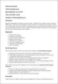 Best Electrical Engineer Resume by Circuit Design Engineer Sample Resume Haadyaooverbayresort Com