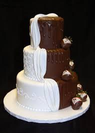 three tier custom fondant wedding cake pictures custom design