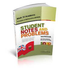 Mcgraw Hill Math Worksheets Snap Ontario Mathematics 10 Academic Principles Of Mathematics