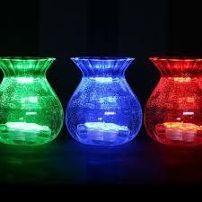 Submersible Led Light Centerpieces by 4pcs Lot Led Submersible Led Home Decor Led Light Stand Flower