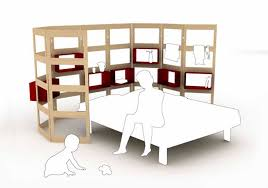 mother and baby modular bedroom furniture design parawall by hanna