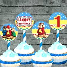 alvin and the chipmunks cake toppers best of alvin and the chipmunks birthday invitations for 57 alvin