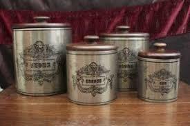country kitchen canisters country kitchen canister set foter