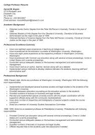 Resume Online by College Instructor Resume Sample Best Resume Collection