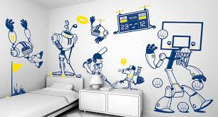 Cartoon Wall Painting In Bedroom 25 Diy Wall Painting Ideas For Your Home The Design Inspiration