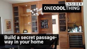 Hiddenpassageway Secret Passages Built In Your Own Home One Cool Thing Youtube