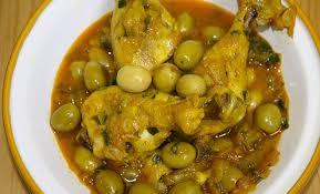 cuisine marocaine poulet aux olives recette marocaine tajine poulet aux olives djodjo