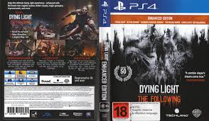 dying light ps4 game dying light the following enhanced edition dvd cover 2016 pal ps4