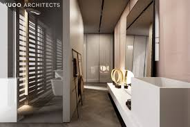 apartment 26 luxury dressing area with wall divided bathroom and